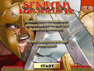 Spartan Warrior :: Bonus Game - Defeat the opponent and earn coins.
