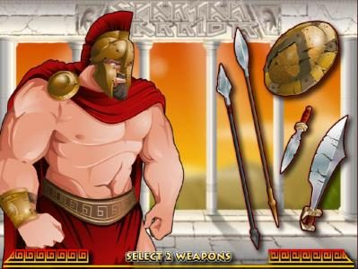 Casino Moons featuring the Video Slots Spartan Warrior with a maximum payout of $25,000