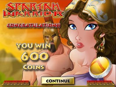 Tradition featuring the Video Slots Spartan Warrior with a maximum payout of $25,000