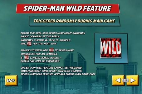 Magic Box featuring the Video Slots Spider-Man with a maximum payout of $50,000