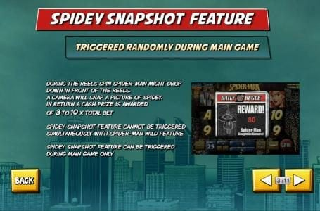Casino Las Vegas featuring the Video Slots Spider-Man with a maximum payout of $50,000
