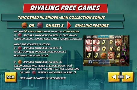 Play slots at My Win 24: My Win 24 featuring the Video Slots Spider-Man with a maximum payout of $50,000