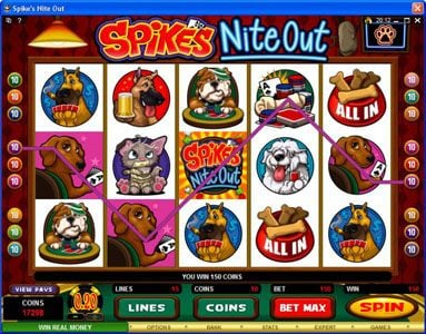 Grand Hotel featuring the Video Slots Spike's Nite Out with a maximum payout of $30,000