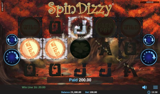 Play slots at Queen Vegas: Queen Vegas featuring the Video Slots Spin Dizzy with a maximum payout of $25,000