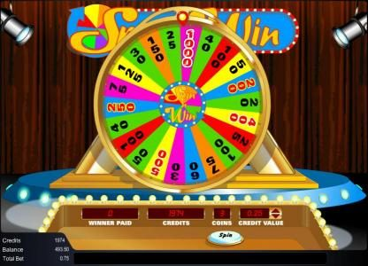 Amaya Spin 'n Win Online Slots Review – Allfreechips com