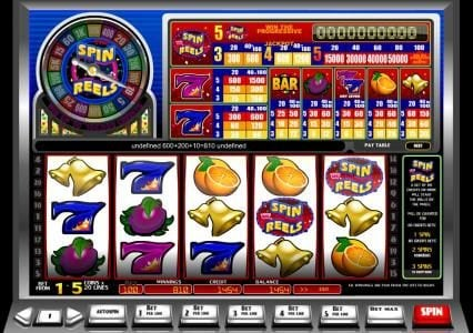 Oshi featuring the Video Slots Spin or Reels with a maximum payout of Jackpot