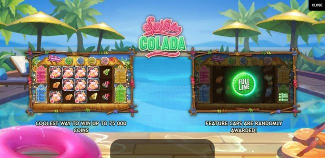 Mr Green featuring the Video Slots Spina Colada with a maximum payout of $400,000