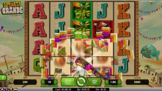 Spinata Grande :: Mini-Slot Feature triggered