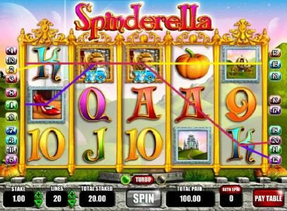 Winner Million featuring the Video Slots Spinderella with a maximum payout of $250,000