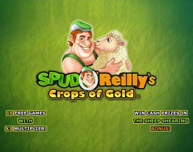 Play slots at Palace VIP: Palace VIP featuring the Video Slots Spud O'Reilly's Crops of Gold with a maximum payout of $1,000,000