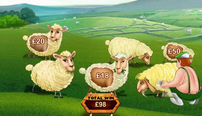 With each sheep selected you will be awarded a cash prize amount.
