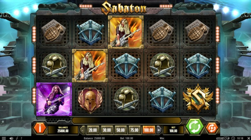 Sabaton :: Main Game Board