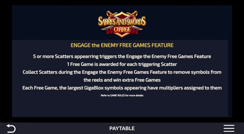 Sabres and Swords Charge :: Free Game Rules
