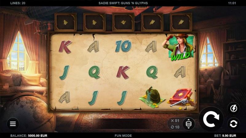 Sadie Swift Gun's n Glyphs :: Main Game Board