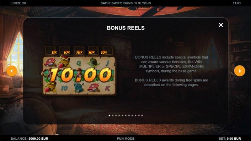 Sadie Swift Gun's n Glyphs :: Bonus Reels