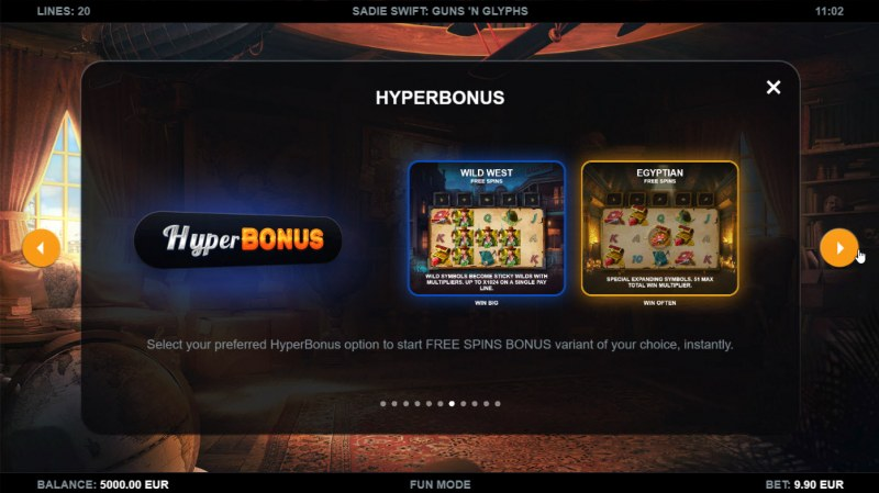 Sadie Swift Gun's n Glyphs :: Hyper Bonus
