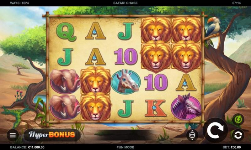 Safari Chase :: Base Game Screen