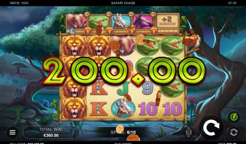 Safari Chase :: Multiple winning paylines