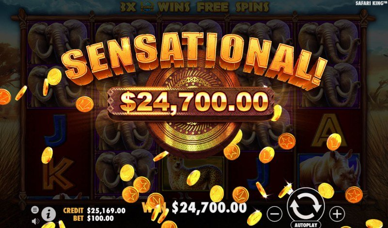 Safari King :: Sensational Win