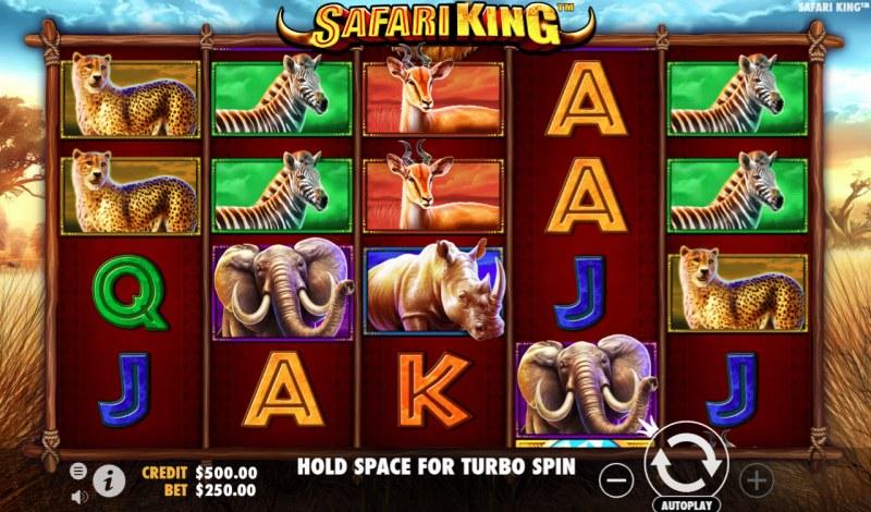 Safari King :: Main Game Board
