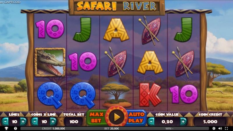 Safari River :: Base Game Screen