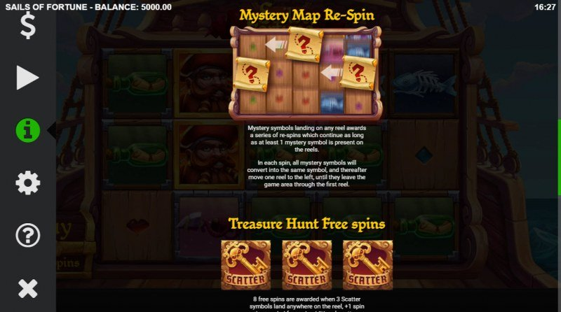Sails of Fortune :: Mystery Map Re-Spin