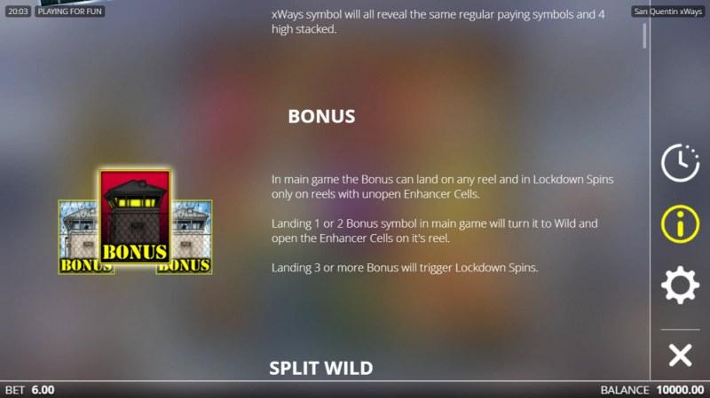 San Quentin :: Bonus Feature