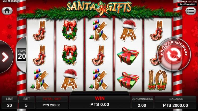 Santa Gifts :: Main Game Board