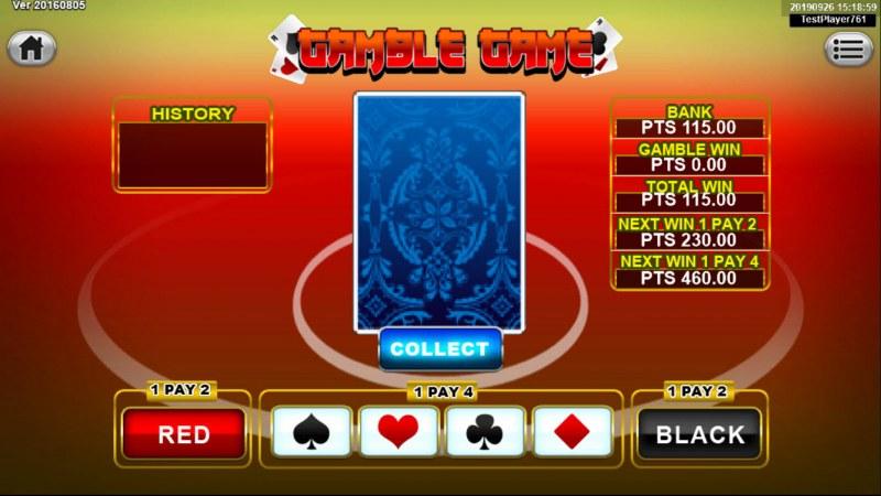 Santa Gifts :: Gamble Feature Game Board