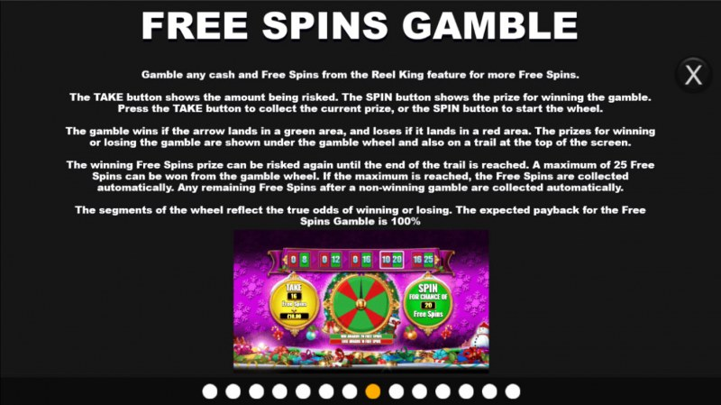 Santa King Megaways :: Gamble feature