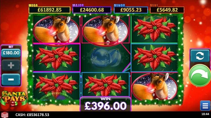 Santa Pays :: Multiple winning paylines