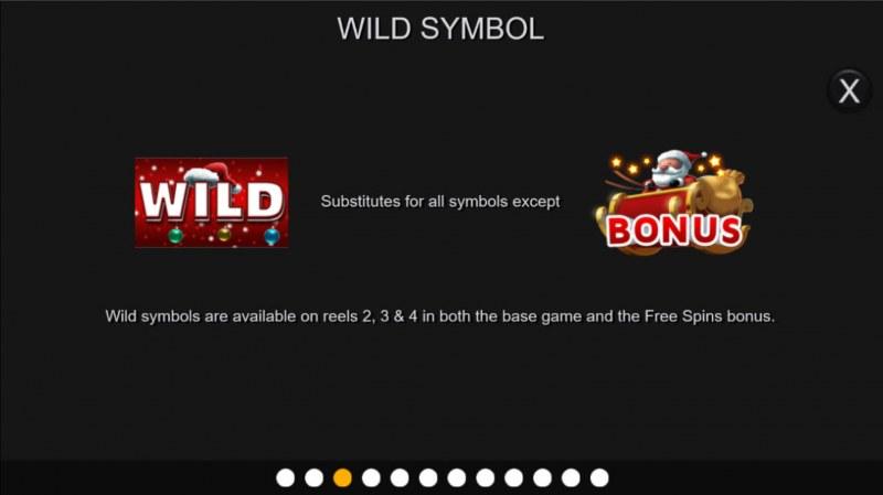 Santa Stacked Free Spins :: Wild Symbol Rules