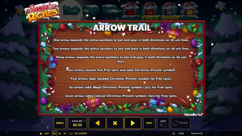 Santa's Riches :: Arrow Trail