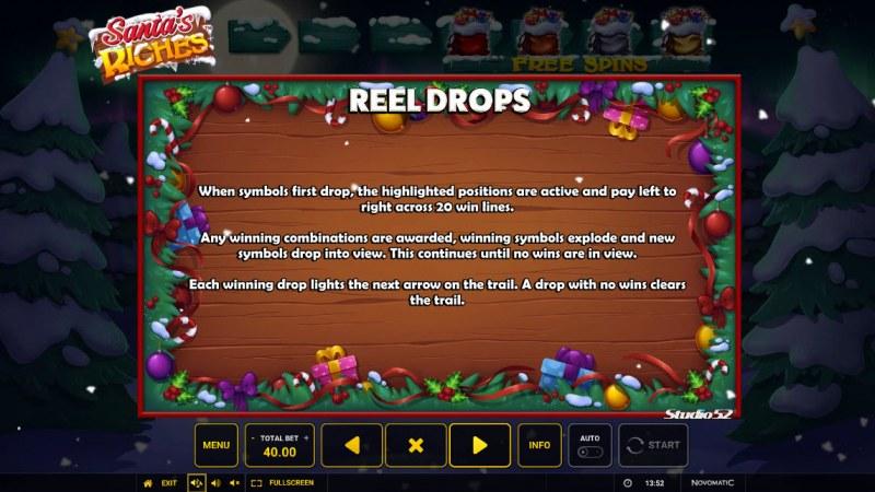 Santa's Riches :: Reel Drops