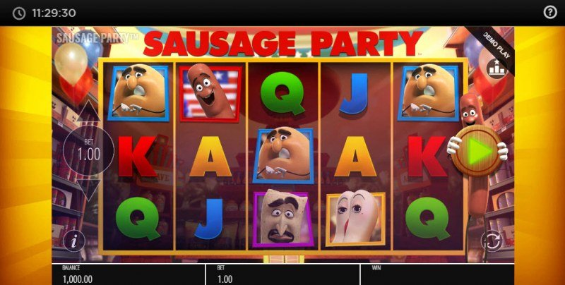Sausage Party :: Main Game Board