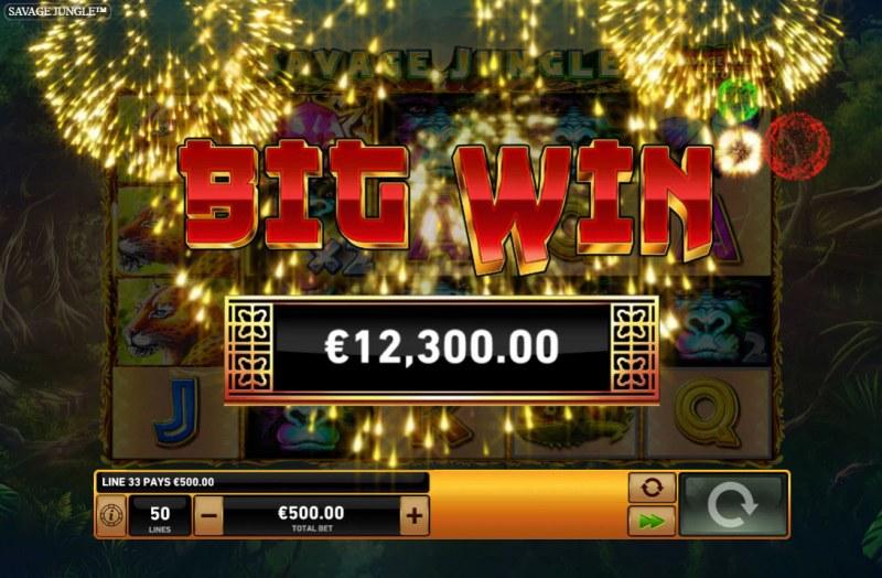 Savage Jungle :: Big Win