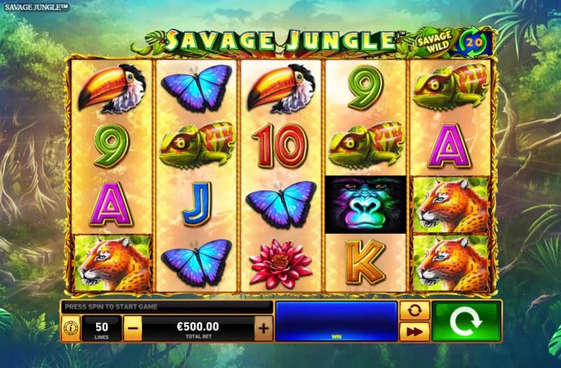 Savage Jungle :: Main Game Board