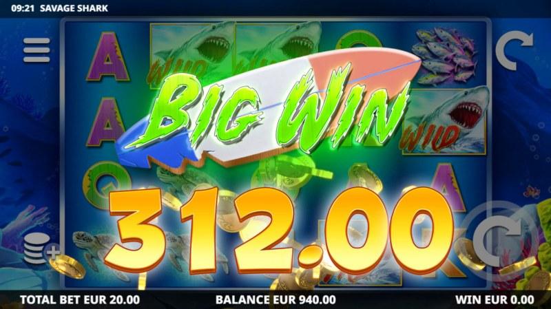 Savage Shark :: Big Win