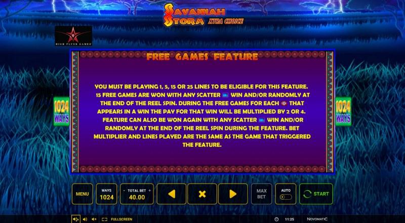 Savannah Storm :: Free Game Rules