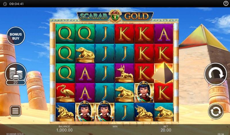 Scarab Gold :: Main Game Board