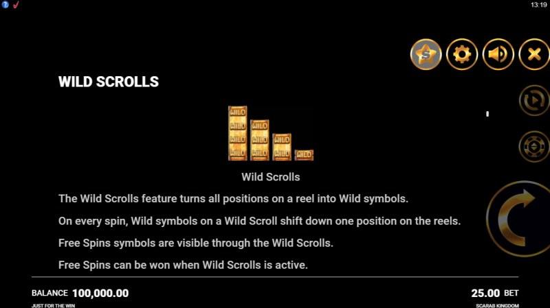 Scarab Kingdom :: Wild Scrolls