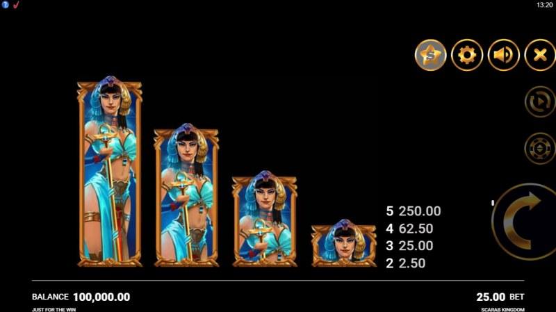Scarab Kingdom :: Main Game Board