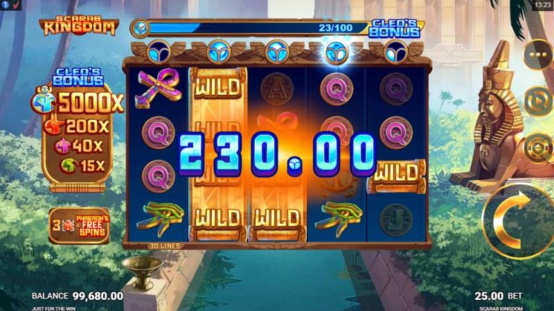 Scarab Kingdom :: Multiple winning paylines