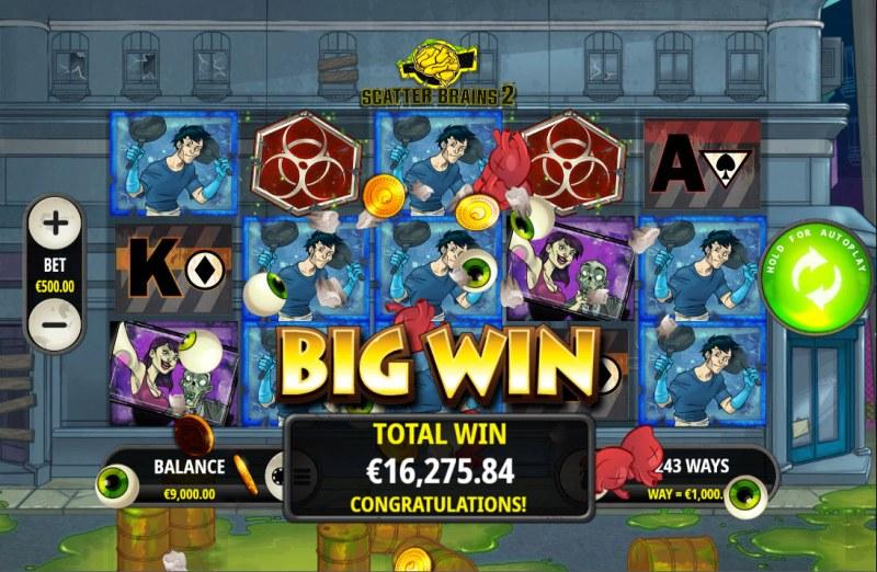 Scatter Brains 2 :: Big Win