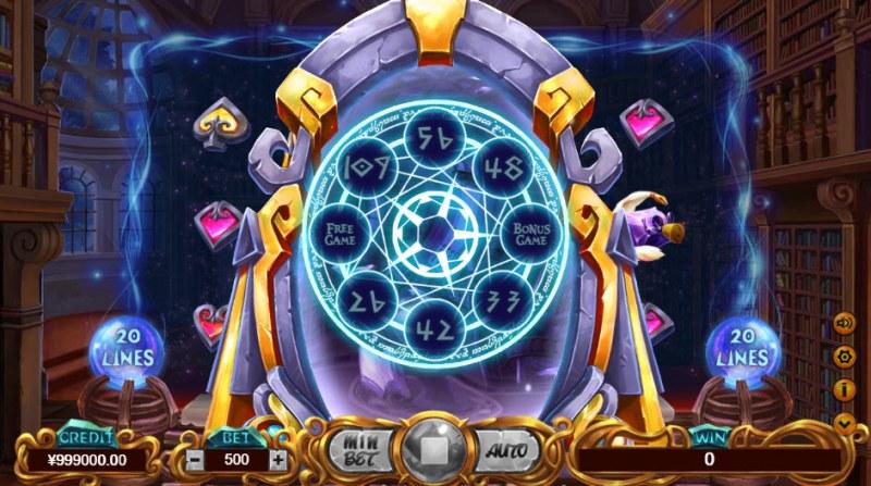 School of Witchcraft :: Bonus Wheel Feature
