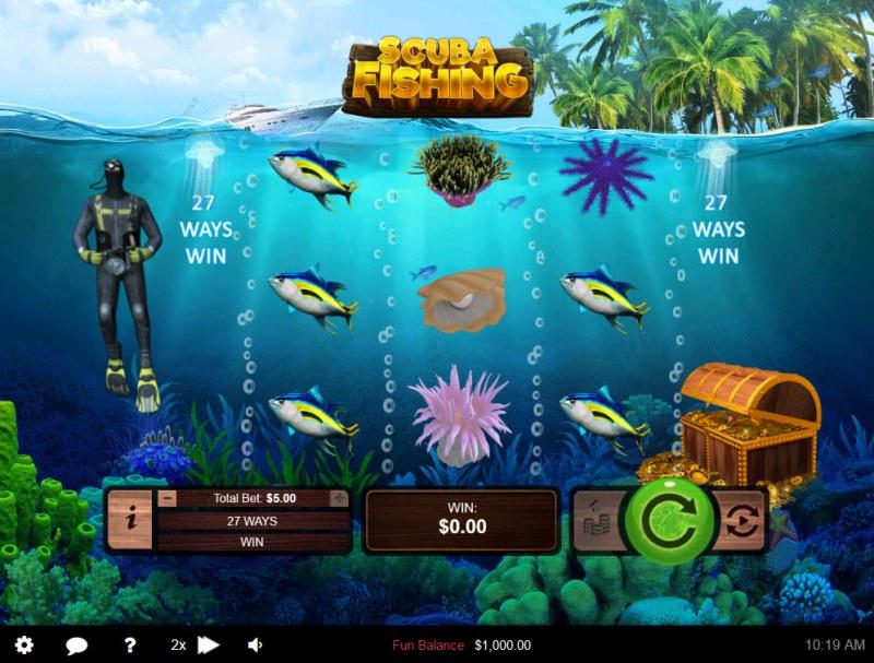 Scuba Fishing :: Main Game Board