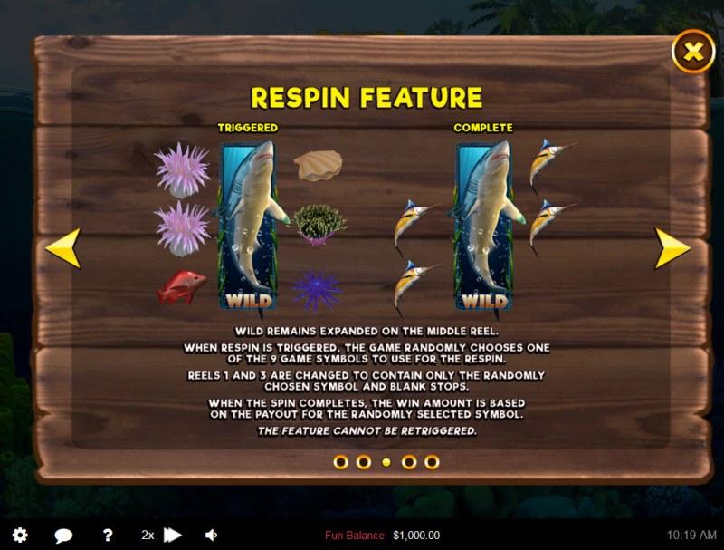 Scuba Fishing :: Respin Feature