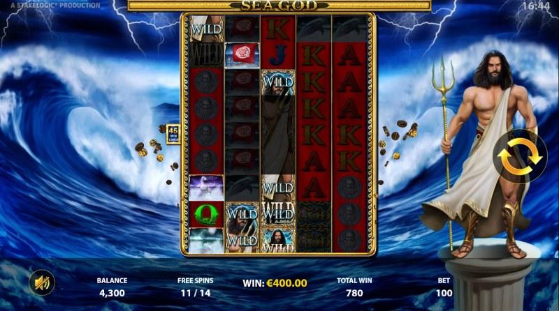 Sea God :: Multiple winning paylines