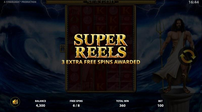 Sea God :: Super Reels Activated