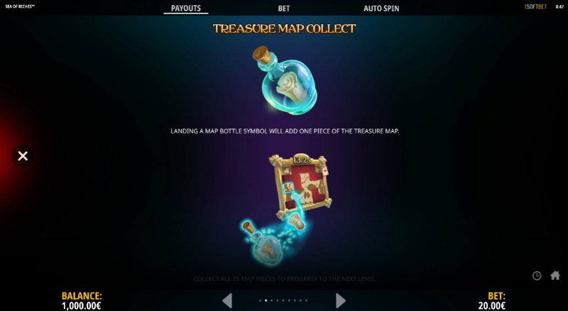 Sea of Riches :: Treasure Map Collect